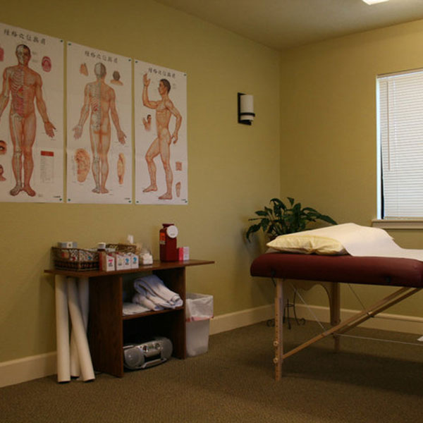Picture of one of our treatment rooms